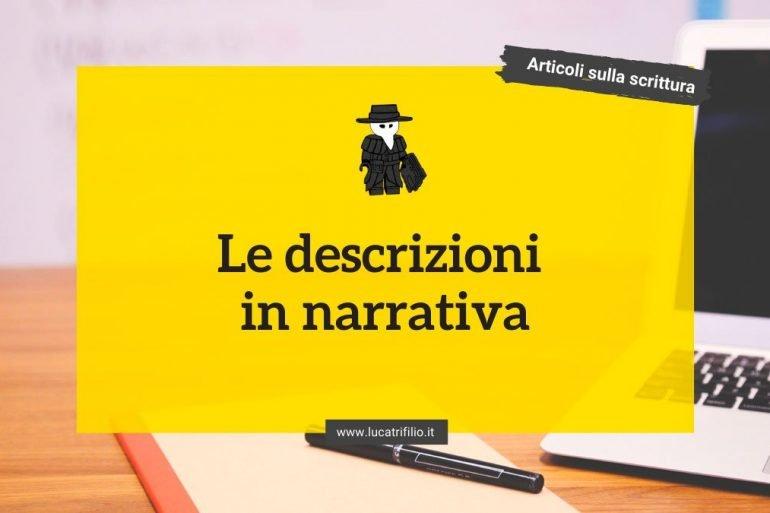 Le descrizioni in narrativa