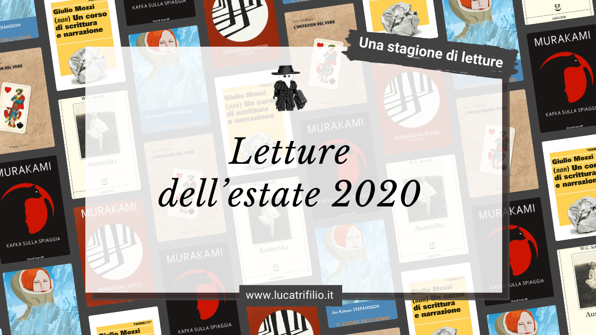 Letture dell'estate 2020