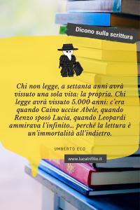 Pin citazione Umberto Eco
